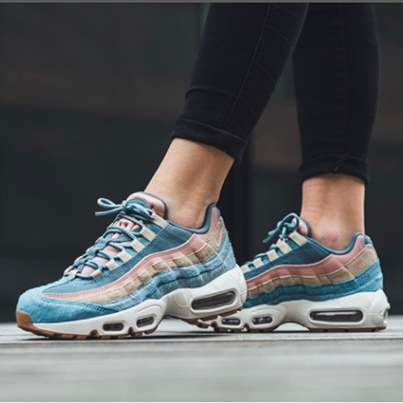 quality design 98add bbef4 ... NIKE smokey blue Air Max 95 LX ~ 8 ...